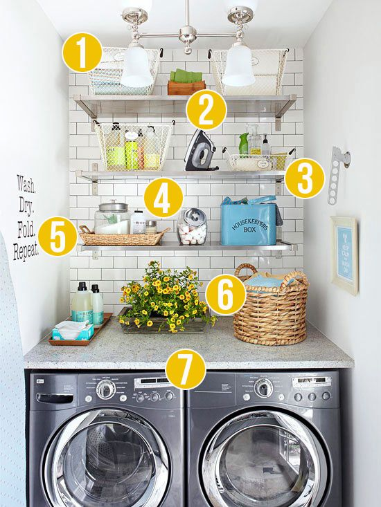 Get This Look: Fresh Laundry Nook Ideas For Small Laundry Rooms .
