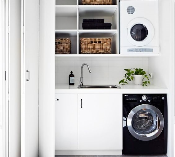 40 Small Laundry Room Ideas and Designs — RenoGuide - Australian .