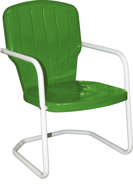 CLOSEOUT - Skylark Heavy Duty Metal Lawn Chair | Retro Metal Lawn .