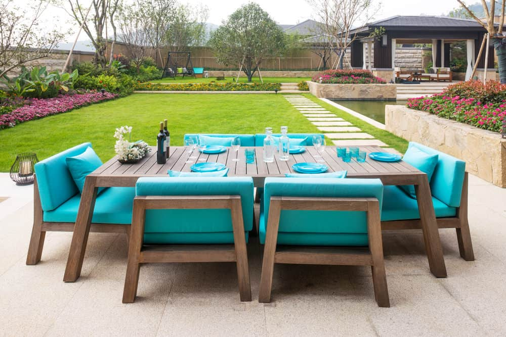 28 Types of Outdoor Patio, Deck and Garden Furniture (Photo