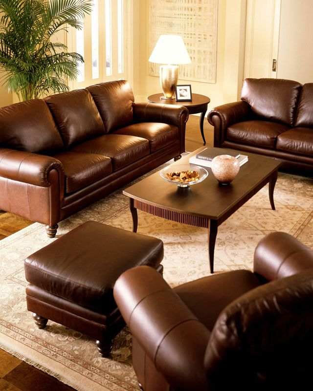 Most comfortable leather sofa with classic design. Love it .