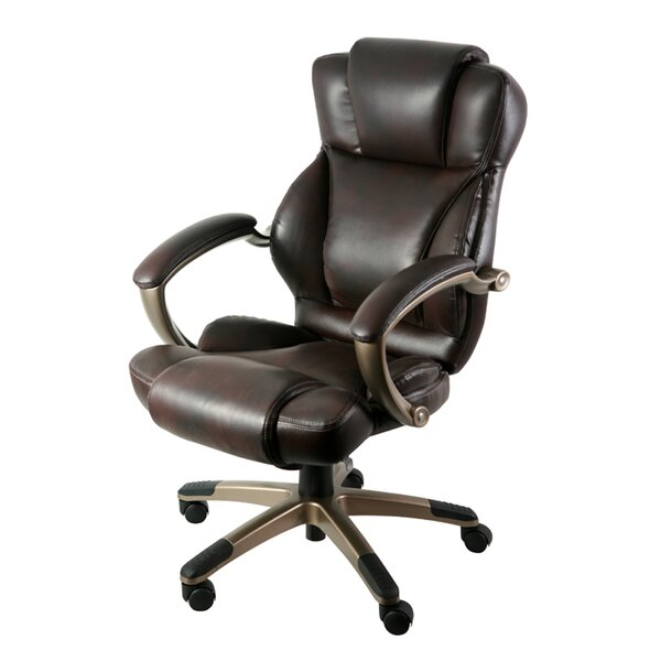 Leather Office Chairs You'll Love in 2020 | Wayfa