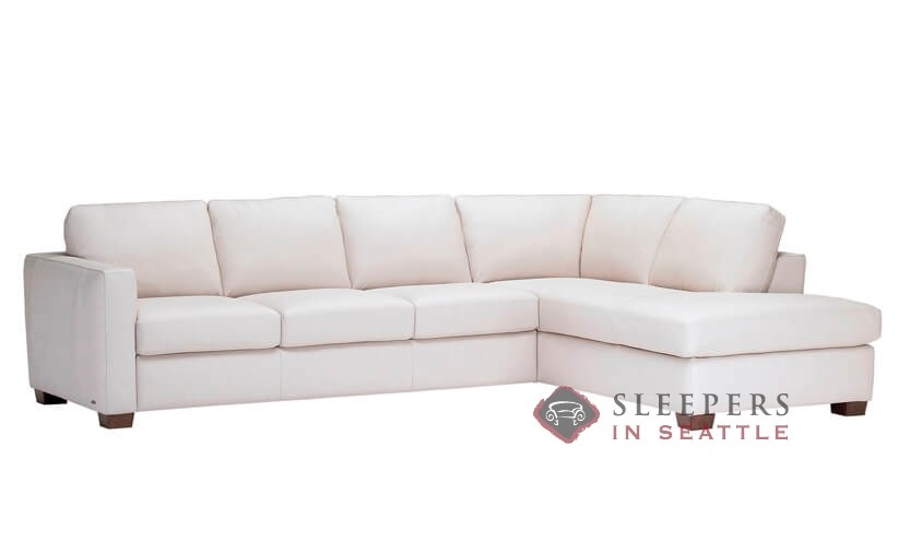 Customize and Personalize Roya (B735) Chaise Sectional Leather .