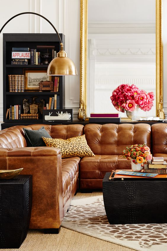 4 Tips to Purchasing a Leather Sofa Sectional .