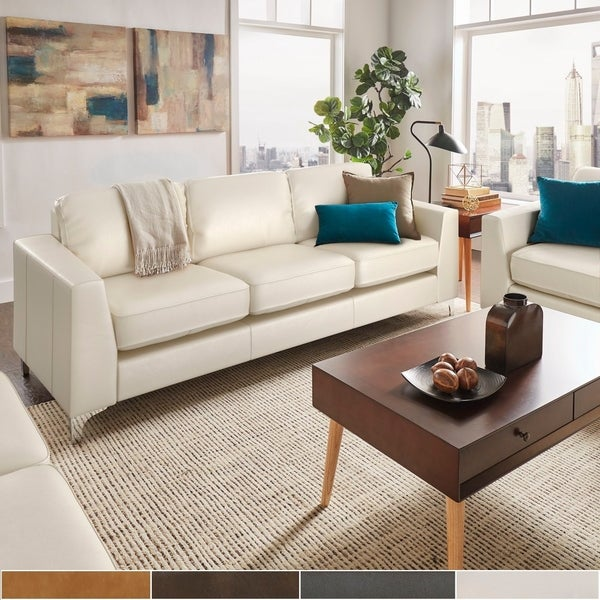 Buy Leather Sofas & Couches Online at Overstock | Our Best Living .