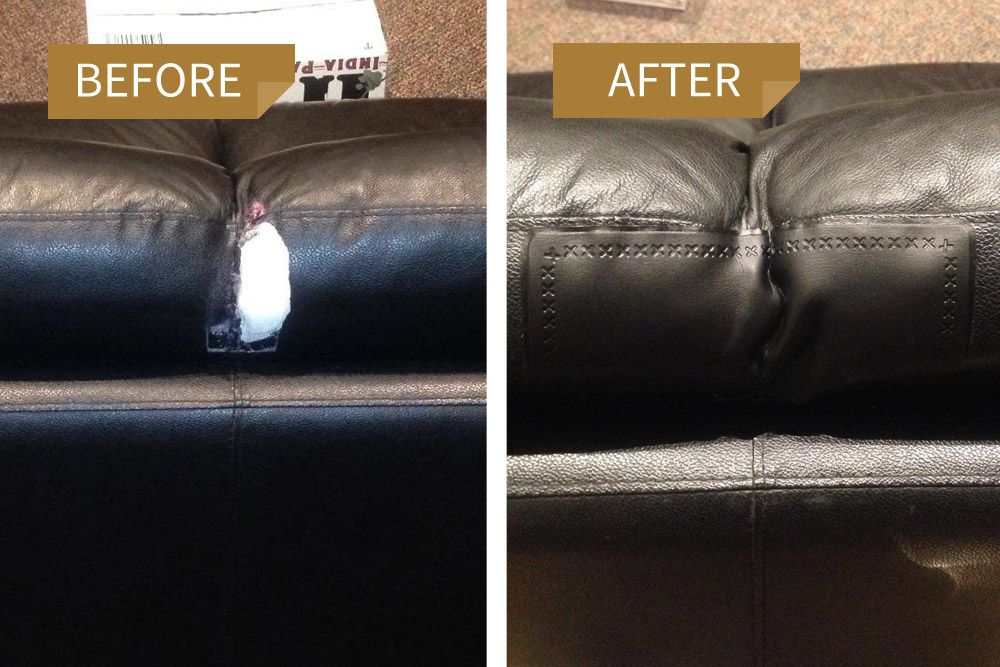 Leather Repair Kit Gallery   Leather couch repair, Couch repair .