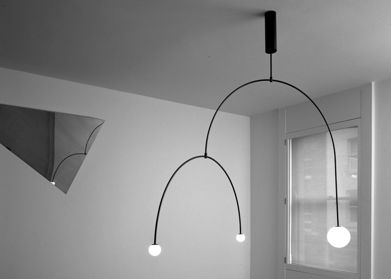 Michael Anastassiades creates lights from glowing spher