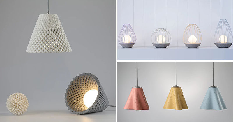 Three New Concrete Lighting Collections By ARDOMA Desi