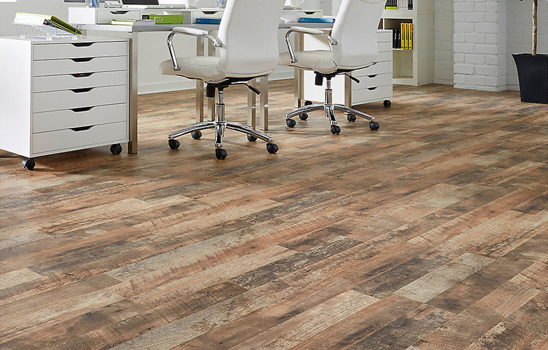 Wood Looking Linoleum Flooring to Easily Decorate Your Room with .
