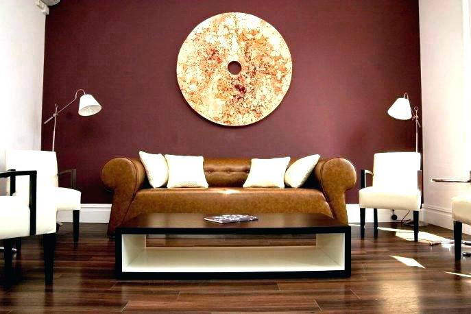 Paint Ideas Living Room Accent Wall Colors Brown Furniture House .