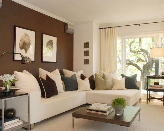 ACCENT WALLS | Accent walls in living room, Living room colors .