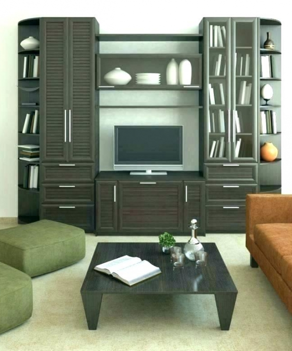 Tall Solid Wood Storage Cabinets Living Room Cabinet Accent .
