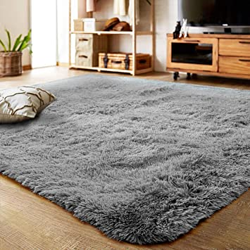 Amazon.com: LOCHAS Ultra Soft Indoor Area Rugs Fluffy Living Room .