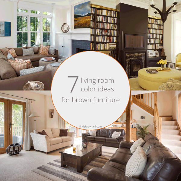 7 Most Attractive Living Room Color Ideas for Brown Furniture in .