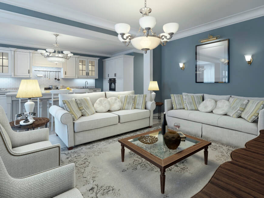 Personal and Nice Living Room Paint Colors — Office PDX Kitch