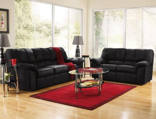 Decorating Your Living Room with Black Leather Furniture   CLS .