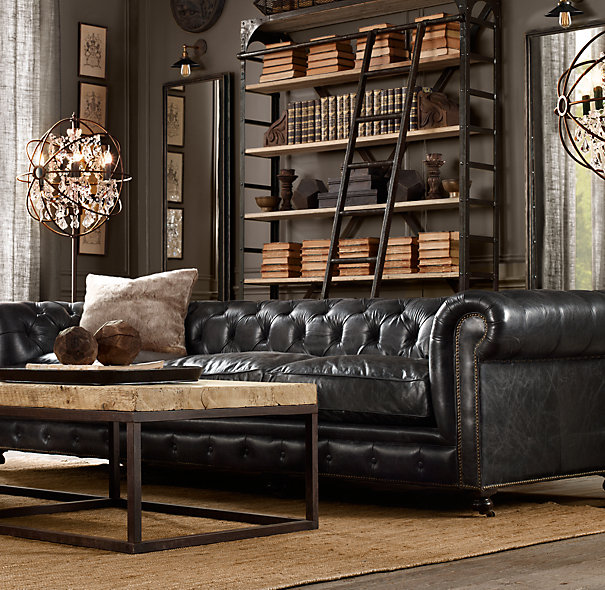 How To Decorate A Living Room With A Black Leather Sofa   Decohol