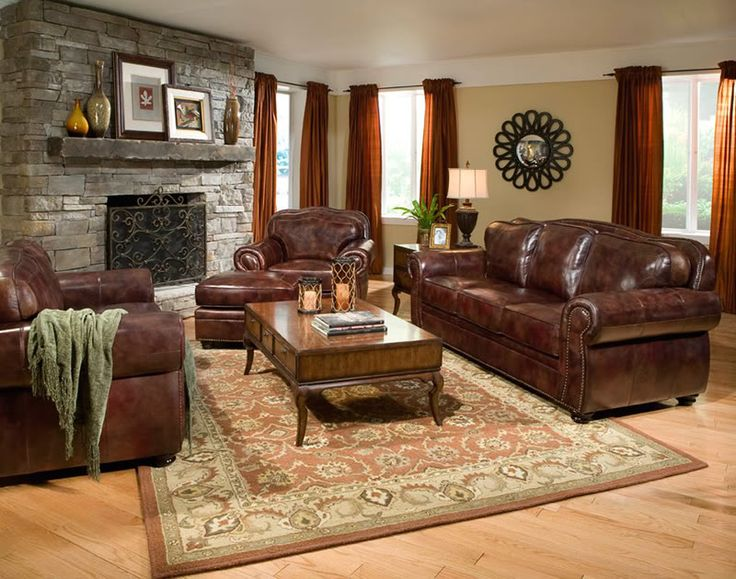 7 Best living room decor images | Living room decor, Leather .