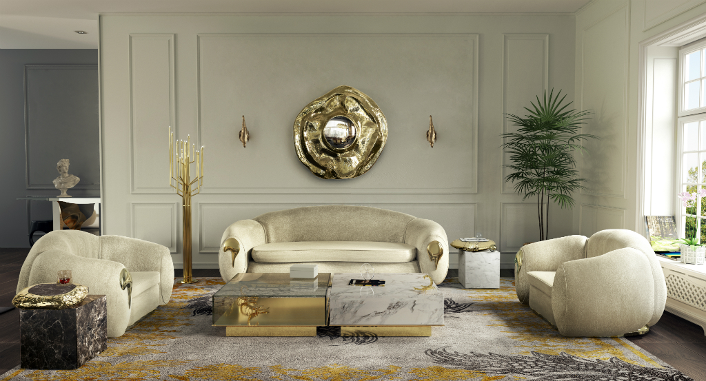 Get The Look: Luxurious Living Ro