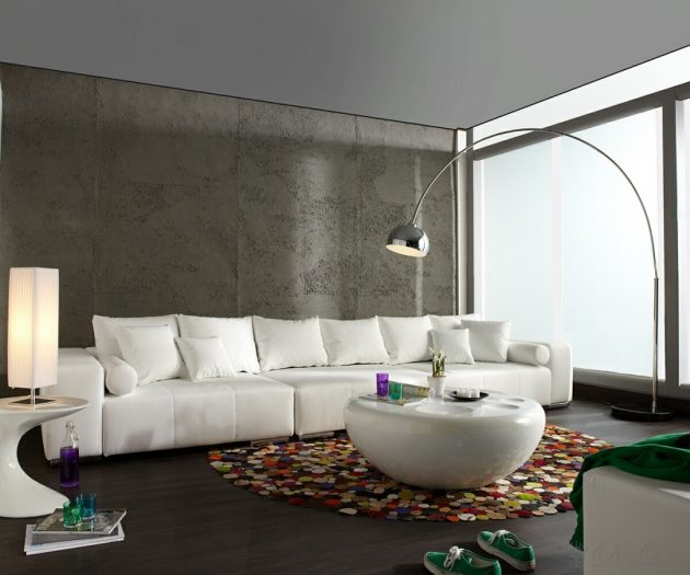 18 Big Floor Lamp Designs For Magical Ambiance In The Living Ro