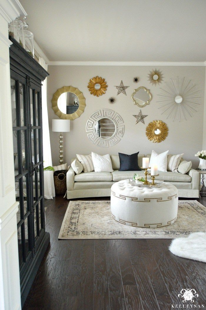 Formal Living Room Tour | Formal living rooms, Living room mirrors .