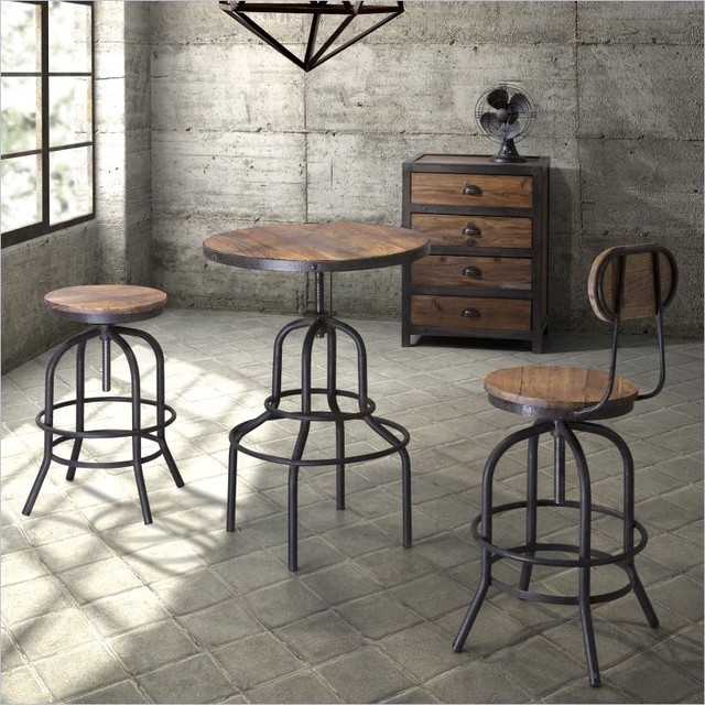 Industrial Loft Bar Furniture - Eclectic - Kitchen - New York - by .