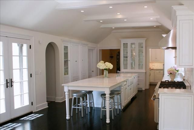 Kitchen of the week | Long narrow kitchen, Kitchen island with .