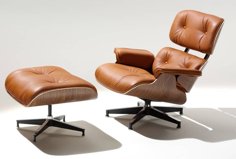 10 Iconic Lounge Chairs with Footstoo