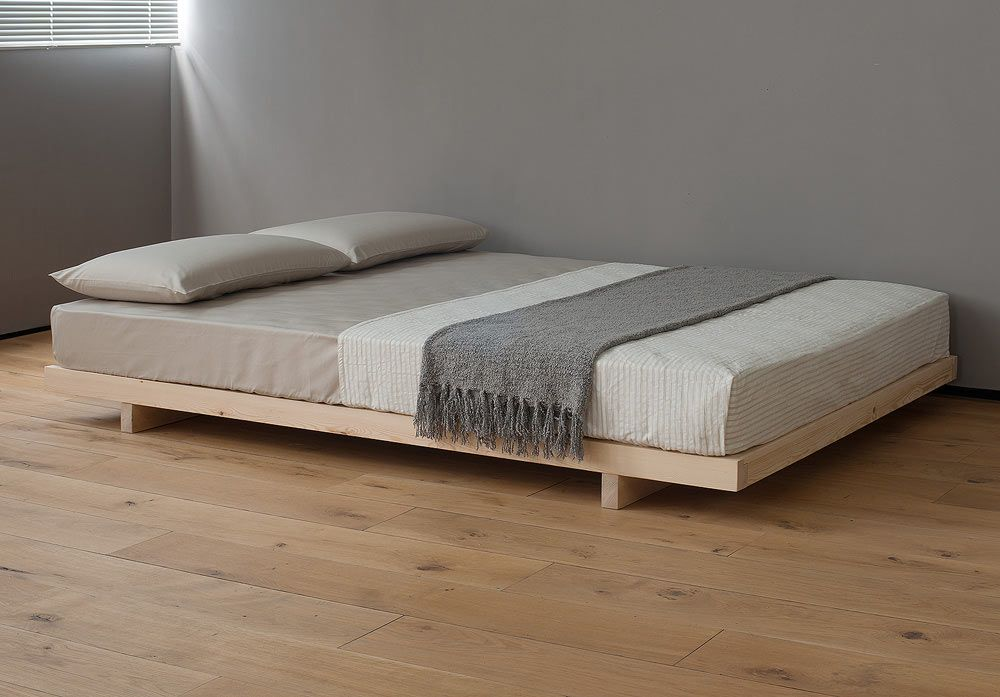 Kobe Low Bed - Without Headboard in 2020 | Platform bed designs .