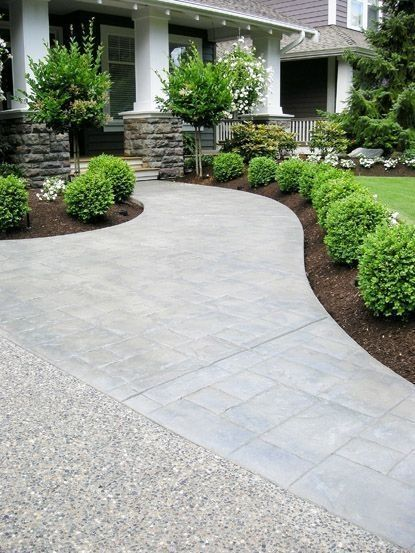 Low Maintenance Front Yard Landscaping | Front yard landscaping .