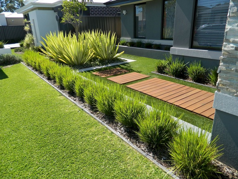 Low Maintenance Front Yard Landscape | MyCoffeepot.O