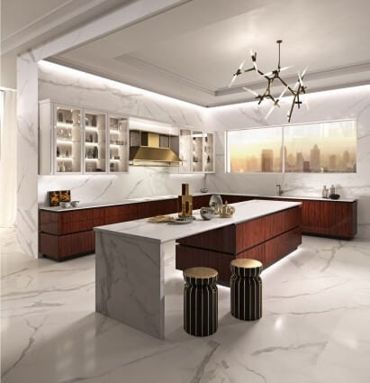 elegante bespoke is perfect for luxury modern kitchens | mecc .