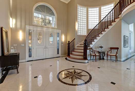 Important Steps in Cleaning Marble Floori