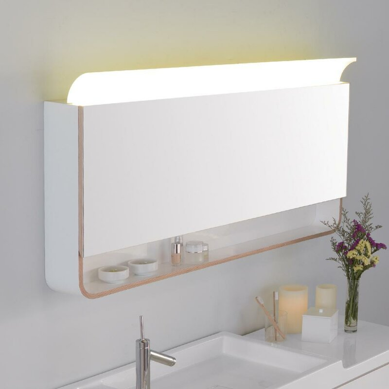 """Ronbow Unity Mirror 47.24"""" x 25.63"""" Surface Mount Medicine Cabinet ."""