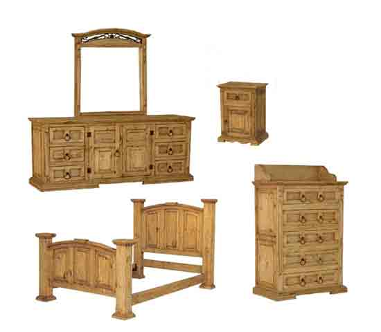 Mexican Rustic Pine Furniture | yougoplanet.c