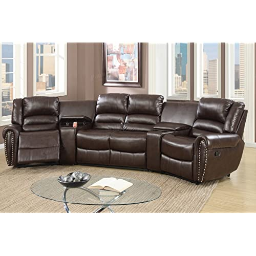 Reclining Sectional Couch: Amazon.c