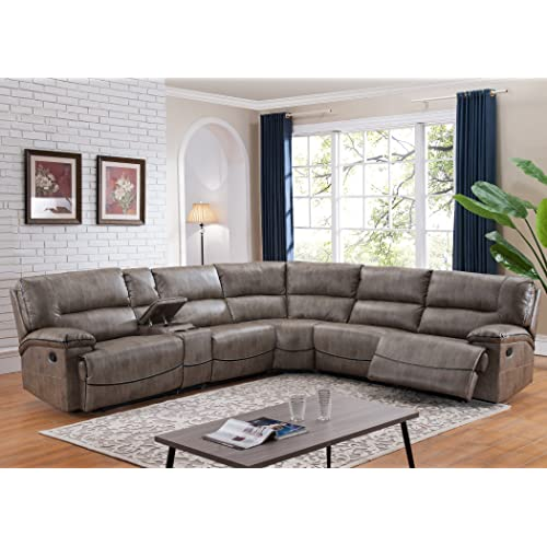 Sectional Sofa with Recliners: Amazon.c