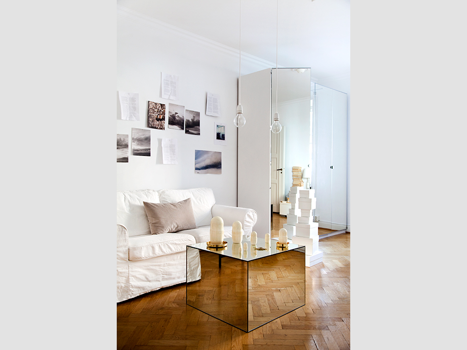 Mirrored Cube Coffee Table - Interiors By Col