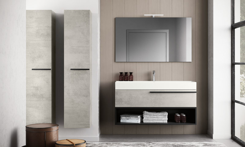 Floating Bathroom Vanities – Matrix | European Cabinets & Desi