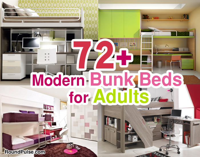 72+ Beautiful & Modern Bunk Beds for Adults 2017/