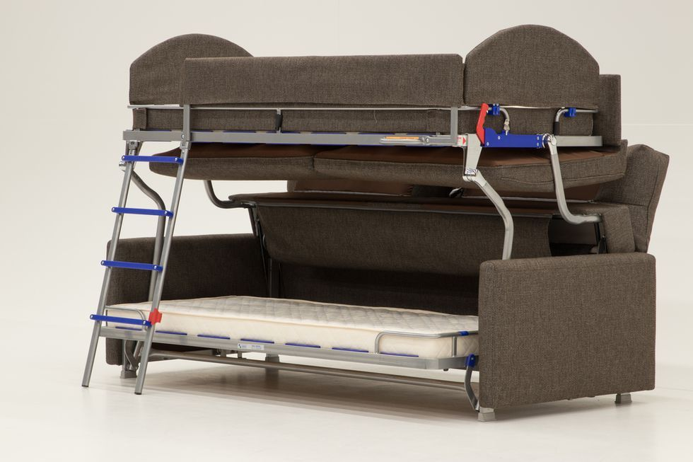 This Sofa Transforms Into A Bunk Bed And You Won't Be Able To Stop .