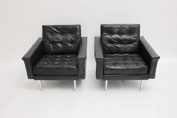 Mid-Century Modern Club Chairs by Johannes Spalt for Wittmann .