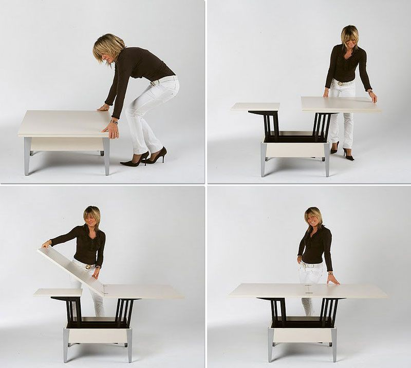 Convertible Tables: Smart and Modern Solutions for Small Spaces .