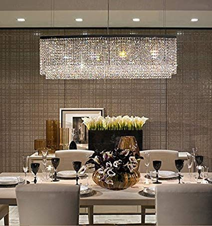 Modern Crystal Chandeliers For Dining Room: How to Take Your Pick .