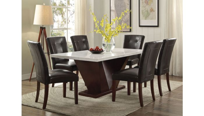 Majela Modern Marble Top Dining Table S