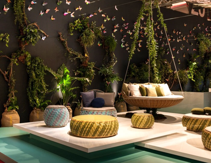 Modern Outdoor Furniture and Shadings from Salone del Mobile 2014 .