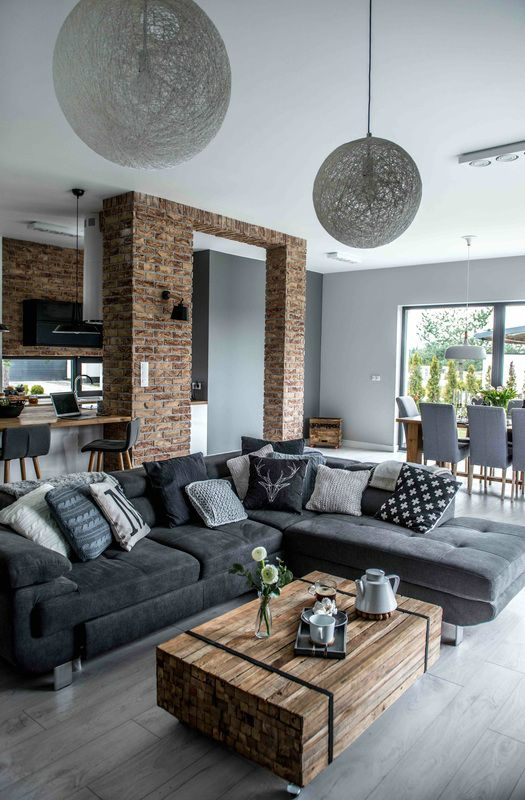 Shades Of Gray-The Nordic Feeling | Modern home interior design .