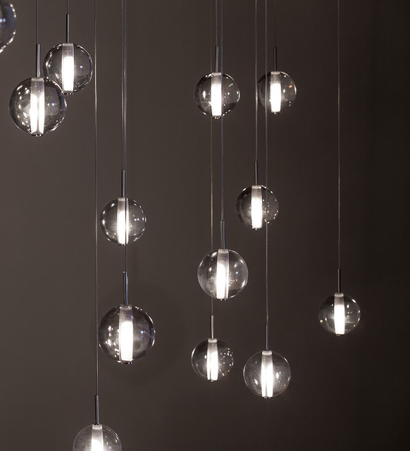 Globe Suspensions - Modern Lighting By Premiere - Contemporary .
