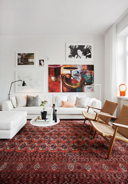 Pantone's Color of the year, Marsala, for your Interior: I'm a Fan .