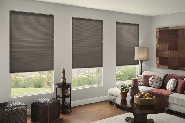 Gray doesn't have to be drab! - Contemporary - Living Room .